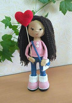 Molly Doll crochet pattern - Amigurumi Today | 337x236