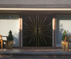 tall x wide Custom produced and size can be varied for each order. We build custom interior and exterior passage and entry doors with a Mid-Century Modern styling. Your front door sets the tone and expectations for visitors entering your