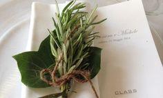 segnaposto erbe aromatiche