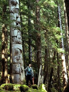 Haida Gwaii. Someday im going  to kayak through this area