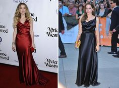 Amber Heard vs. Angelina Jolie: Abito Vivienne Westwood