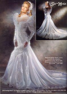 Wedding Dress For Boys, Gorgeous Wedding Dress, Dream Wedding Dresses, Bridal Dresses, Wedding Gowns, Vintage Gowns, Vintage Bridal, Perfect Bride, Fairytale Dress
