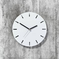 metal wall clock by byshop   notonthehighstreet.com