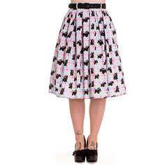 Hell Bunny Scottie Skirt (size 2X)