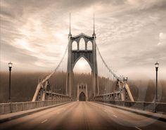 St. Johns Bridge by Portland Saturday Market Vendor Patrick Burke Photography, $38.00
