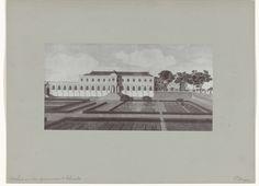 Hübner & Van Santen Roeloffzen | Het huis van den Gouvenerneur te Colombo door C. Steiger, Hübner & Van Santen Roeloffzen, 1890 - 1910 |