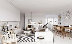 Fotos de interiores de estilo nórdico ~ Decoração e Ideias