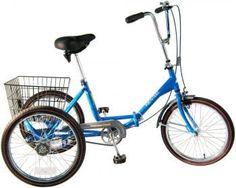 Worksman Port-o-Trike Three Speed Adult Tricycle by Worksman Cycles, Adult Tricycle, Tricycle Bike, Trike Bicycle, Three Wheel Bicycle, 20 Inch Wheels, Car Racks, Third Wheel, Bike Style, Summer Essentials