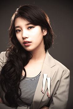 This is a picture of Suzy Bae from the Kpop girl band Miss A.