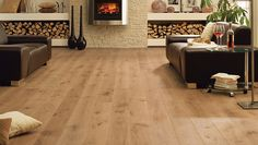 Wood Floors: Natural, wide plank: HARO PARQUET 4000 Plancia 2V Rovere Sauvage spazzolato