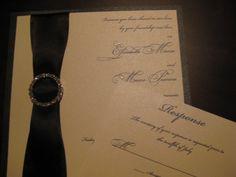 rhinestone through text Wedding Invitation Layout, Wedding Invitations, Elegant, Trending Outfits, Unique Jewelry, Handmade Gifts, Etsy, Classy, Kid Craft Gifts
