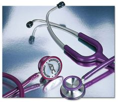 [Love mine] ADC Stethoscope 603 in Purple. Better acoustics than my Littman Classic.
