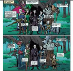 Comic Keyleth (and crew) Critical Role Characters, Critical Role Fan Art, D D Characters, Dnd Dragons, Dungeons And Dragons, Tiberius Stormwind, Dnd Funny, Good Omens Book, Vox Machina