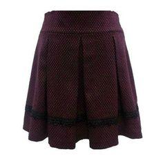 fusta Skater Skirt, Coral, Skirts, Fashion, Atelier, Moda, Fashion Styles, Skater Skirts, Skirt