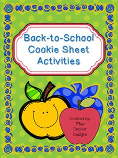 These cookie sheet activities are perfect for the first couple weeks of school. Use them as a center or for one on one instruction. What Is Included: Teacher Directions Making Patterns (2 pages) Count to Five, number, word, show me! (2 pages) Matching Shapes (2 pages) Real Words vs Silly Words (4 pages with worksheet!) Bring to School vs Leave at Home sorting (3 pages) Big vs Small Sorting (2 pages) Same vs Different Sorting (2 pages) Read then Spell with magnetic letters (10 different…