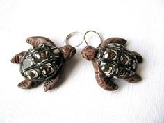 Excited to share the latest addition to my #etsy shop: Animal earrings, Animal lover gift, Animal jewelry, Mini animal earrings, Animal jewelry gift, Animal Turtle Gift, Pets jewelry, Turtle gift #jewelry #earrings #brown #boho #earwire #ceramic #girls #yes #beige http://etsy.me/2iLJ5oe