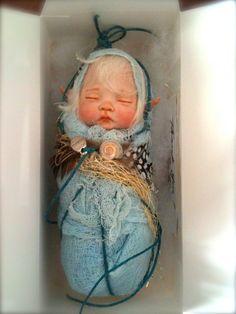 Custom OOAK Fairy by rosannasart on Etsy, $125.00
