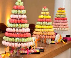 torre de macarons/ macarons tower