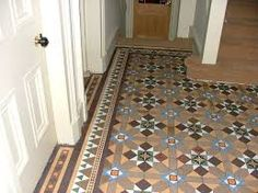 Image result for victorian tiling browns