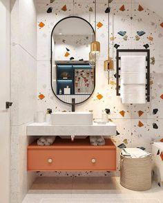 Contemporary Bathrooms, Modern Bathroom Design, Bathroom Interior Design, Home Door Design, Kids Toilet, Baths Interior, Toilet Design, Bathroom Kids, Bathroom Inspiration