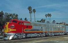 Gotta love the Super Chief! I took a memorable trip with my beloved Dad from Pasadena to NY as a child.
