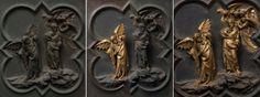 Florence Baptistery, Lorenzo Ghiberti, Firenze, Italian Artist, Michelangelo, Renaissance, Lion Sculpture, Statue, Christ