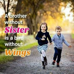 Brother and sister relationship quotes with pictures