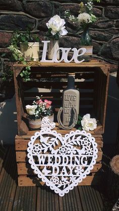 Crate displays are great for all occasions