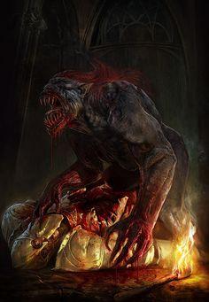 The Witcher artworks on Digital Art Served