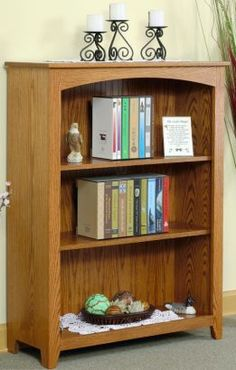 """Standard Arched bookcase approx. 36""""W x 48""""H.."""
