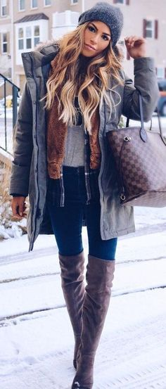 #Winter #Fashion #Outfits Winter Fashion Outfits to Copy Asap