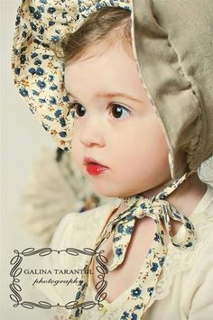 cutest bonnet.