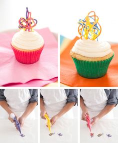 Arte en tus cupcakes...