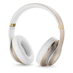Beats by Dr. Dre Studio Wireless Over-Ear Headphones. Gold. Bluetooth connectivity allows wireless freedom up to 9m. 12 hours of wireless power, or 20h when wired. $379