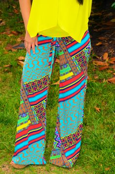 Summer Splash Palazzo Pant – Girly Girl Boutique Hippie Pants, Flowy Pants, Girls Boutique, Palazzo Pants, Summer Of Love, Girly Girl, Swimsuits, Classy, Lingerie