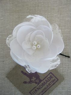 $10 flower hair pin