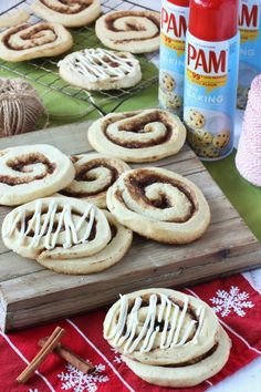 Recipe: Cinnamon Roll Sugar Cookies with Cream Cheese Icing — Sponsored by PAM Baking Spray