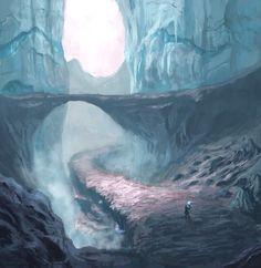 The Path Walked Alone by Julius Advincula (Subhelic) | Matte Painting | 2D | CGSociety