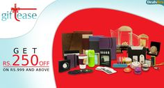 Dealsbro : Giftease Offer Get Rs.250 Off On Rs.999 and Above. www.dealsbro.com/deals/giftease-coupons.html