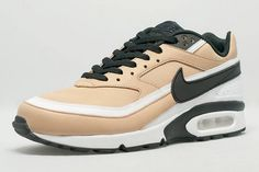 The Nike Air Max BW Vachetta Delivers Buttery Beige Leather