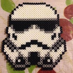 Stormtrooper Star Wars perler beads by questboy1