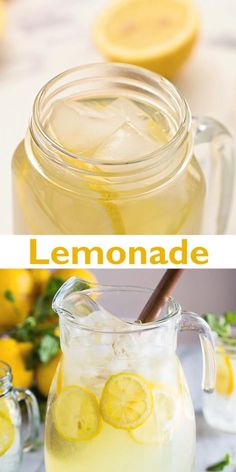 Lemonade With Lemon Juice, How To Make Lemonade, Best Lemonade, Homemade Lemonade Recipe With Lemon Juice, Fresh Lemonade Recipe Gallon, Simple Syrup Lemonade Recipe, Sweet Lemonade Recipe, Classic Lemonade Recipe, Lemonade Video
