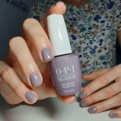 The shade name says it all 💅 #AddioBadNailsCiaoGreatNails. Learn more about this shimmery purple 💜  by: @cristinanailsbrasov  #purple #purplenails #opigelcolor #opigel #gelnails #opi #fall #fallnails #nailideas Purple Gel Nails, Opi Gel Nails, Opi Nail Colors, Manicure And Pedicure, Nail Polishes, Manicures, Great Nails, Cute Nails, Bad Nails