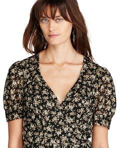 Floral-Print Gauze Wrap Dress - Maxi  Dresses - RalphLauren.com