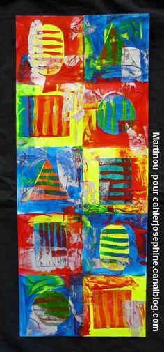 martinou comme jasper jonhs Pop Art, Art Plastique, Abstract, Mathematics, Jasper, Classroom Ideas, Artwork, Painting, Summary