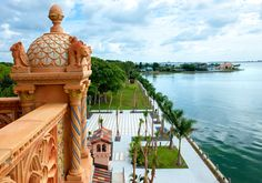 Giovanni Lunardi photography. Taken from the tower of John and Mable Ringling winter estate in Sarasota Florida, the Ca'd'Zan.