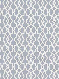 DecoratorsBest - Detail1 - Sch 5005142 - Summer Palace Fret - Wisteria - Wallpaper - - DecoratorsBest