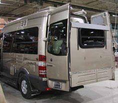 Sprinter Camper Van With Slideout