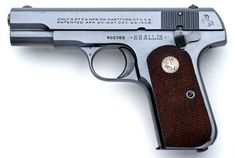 Colt Pistols and Revolvers for Firearms Collectors - Gun of the Month -  December 1999