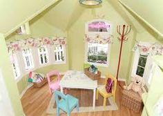 Bilderesultat for playhouse interior decorating ideas